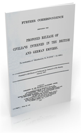 proposed release of civilians interned in the british and german empires (1917)