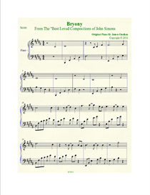 Bryony Sheet Music in B Major | Music | Instrumental