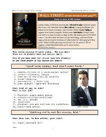 wall street-money never sleeps, whole-movie english (esl) lesson