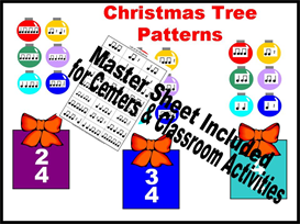 Christmas Tree Patterns Kit | Other Files | Patterns and Templates