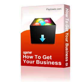How To Get Your Business on the Frontpage - Download