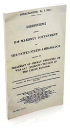 misc. no.5. treatment of german prisoners of war and interned civilians in the united kingdom.
