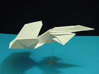 First Additional product image for - Origami Starship Dragon Tutorial Video