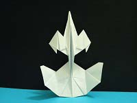 Second Additional product image for - Origami Starship Dragon Tutorial Video