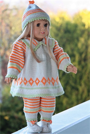 KnittingDollPatterns 0064D GITTE - PANTS, DRESS, HAT and SHOES | Other Files | Arts and Crafts
