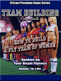 flycast premium advanced game: how to build a team of women (team building essentials)