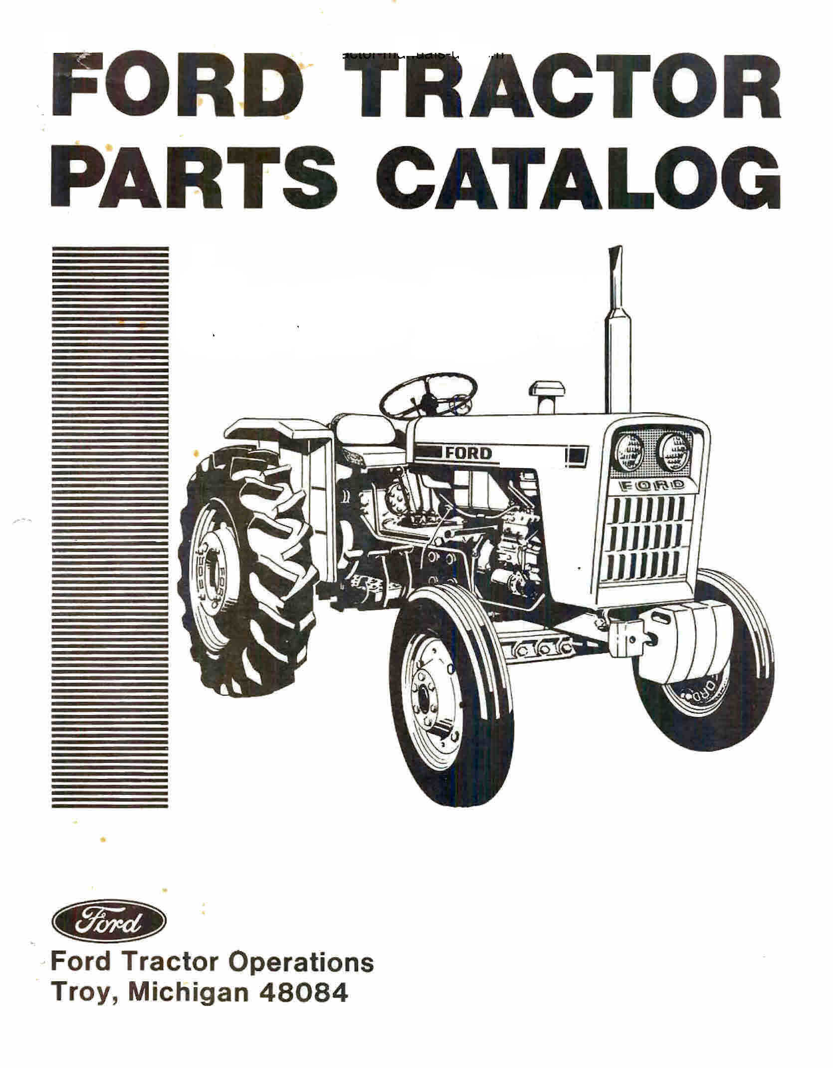 Ford 6000 Tractor Wiring Diagram 9n Parts 1220