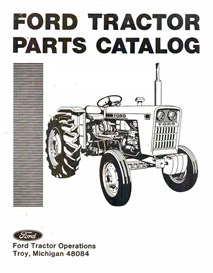 Ford 1000 Tractor Parts Manual | eBooks | Automotive