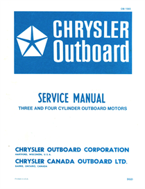 Chrysler Outboard service manual 70 - 75 - 85 - 90 - 105 120 - 130 -  135 - 150 HP | eBooks | Automotive
