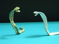 Fourth Additional product image for - Origami Dollar Cobra Tutorial Video