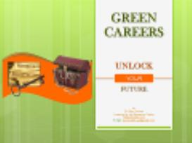 Green Careers - Unlock Your Future | eBooks | Education