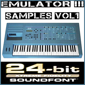Emu e-mu Emulator III 3 emulator3 vol1 Soundfont REASON 5 6 REFILL SF2 FL STUDIO 10 FRUITY LOOP | Music | Soundbanks