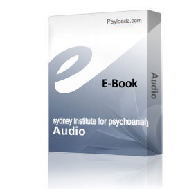 Audio & Transcripts Term 1 Year 1 | eBooks | Psychology & Psychiatry