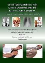 eBook Street Fight Statistics with Medical Outcomes linked to Karate Bunkai Selection | eBooks | Sports