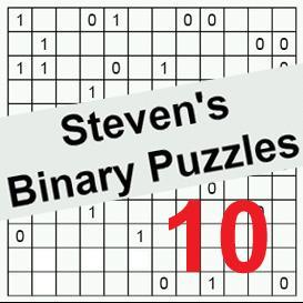 binary puzzles 10
