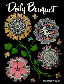 Doily Bouquet - Adobe .pdf Format | eBooks | Arts and Crafts