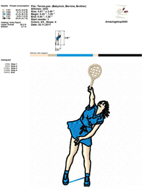 Sport 1 Embroidery Design   Crafting   Sewing   Other