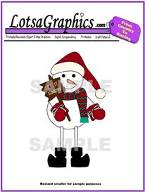 snowman 4 clipart download