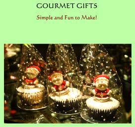 gourmet gifts w/ 3 bonus books