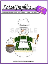 snowman 7 clipart download