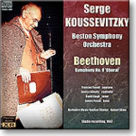 BEETHOVEN Symphony No 9, Koussevitzky 1947, 16-bit Ambient Stereo FLAC | Music | Classical