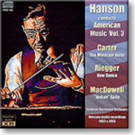 HANSON conducts American Music Volume 3, 16-bit Ambient Stereo FLAC | Music | Classical