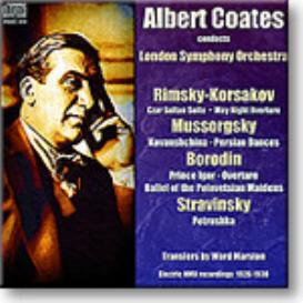 COATES conducts Russian Electric Recordings, mono MP3 | Music | Classical
