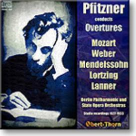 PFITZNER conducts Overtures, mono MP3 | Music | Classical