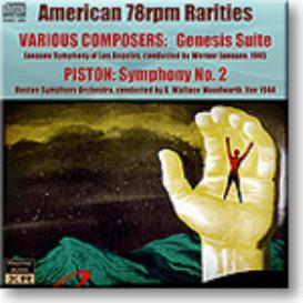 American 78rpm Rarities - Genesis Suite, Piston Symphony 2, 24-bit Ambient Stereo FLAC | Music | Classical