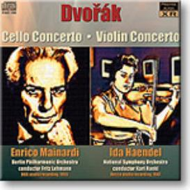 DVORAK Cello and Violin Concertos, Mainardi, Haendel, mono FLAC | Music | Classical