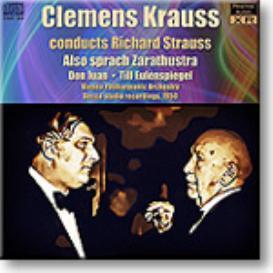 STRAUSS, Zarathustra, Don Juan, Till Eulenspiegel, Krauss 1950, mono FLAC | Music | Classical