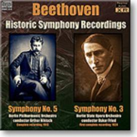 BEETHOVEN Symphony 5, Nikisch 1913, Symphony 3, Fried 1924, 24-bit Ambient Stereo FLAC | Music | Classical