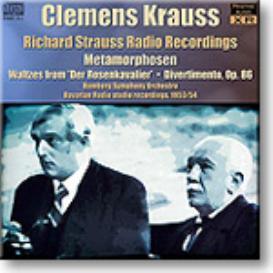 STRAUSS, Radio Recordings, Krauss 1953-4, mono FLAC | Music | Classical