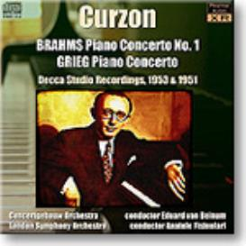 CURZON plays Brahms and Grieg piano concertos, 24-bit Ambient Stereo FLAC | Music | Classical