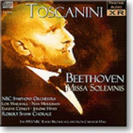 Beethoven Missa Solemnis, Toscanini Radio TX 1953, mono MP3 | Music | Classical
