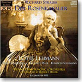 Der Rosenkavalier, Lehmann 1933, mono MP3 | Music | Classical