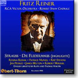 Die Fledermaus (English, highlights) Reiner 1950, 16-bit Ambient Stereo FLAC | Music | Classical