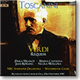 Verdi Requiem, Toscanini 1940, mono MP3 | Music | Classical
