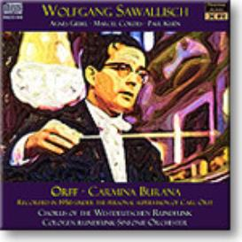 Orff Carmina Burana,Sawallisch 1956, 16-bit mono FLAC | Music | Classical