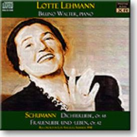 Schumann Dichterliebe etc, Lehmann, Walter, 1941, mono MP3 | Music | Classical