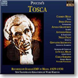 Puccini Tosca, La Scala 1929, mono MP3 | Music | Classical