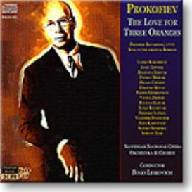 PROKOFIEV The Love for Three Oranges, 16-bit mono FLAC | Music | Classical