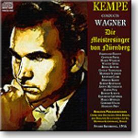 WAGNER Die Meistersinger von Nurnberg, Kempe 1956, 16-bit mono FLAC | Music | Classical
