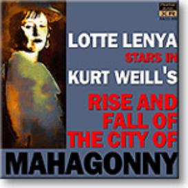 WEILL Rise and Fall of the City of Mahagonny, Lenya 1956, 16-bit mono FLAC | Music | Classical