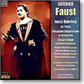 GOUNOD Faust, Bjorling, Soderstrom, Siepi, Morel, Met Opera 1959, 16-bit mono FLAC | Music | Classical