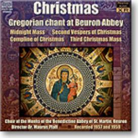 GREGORIAN CHANT Christmas at Beuron Abbey, 24-bit Stereo FLAC | Music | Classical