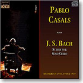 BACH Suites for Solo Cello, Casals, 1936-9, mono MP3 | Music | Classical