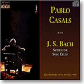 BACH Suites for Solo Cello, Casals, 1936-9, 24-bit Ambient Stereo FLAC | Music | Classical