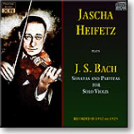 BACH Sonatas and Partitas for Solo Violin, Heifetz, 1952, Ambient Stereo MP3 | Music | Classical
