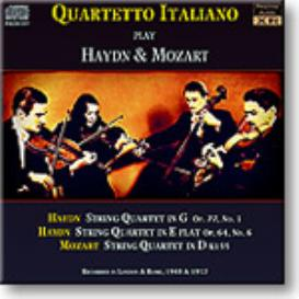 QUARTETTO ITALIANO play Haydn and Mozart, Ambient Stereo MP3 | Music | Classical